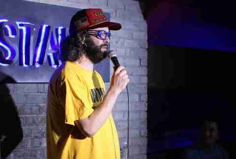 Judah Friedlander at The Stand Comedy Club and Restaurant in New York City