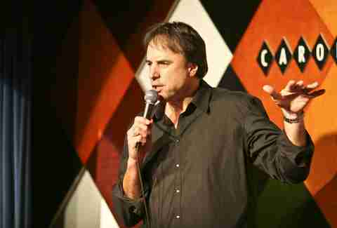 Kevin Nealon performing at Carolines in Times Square in New York City