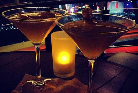 martinis at 107 skylounge las vegas
