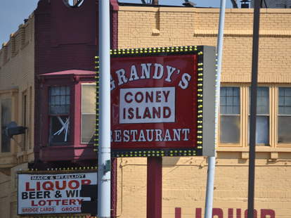 grandy's coney island detroit