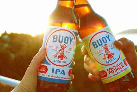 buoy beer company bottles
