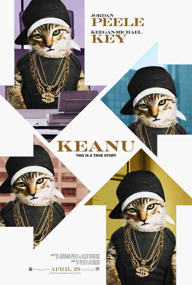 Fake Movie Poster for The Big Short Starring Keanu The Cat