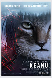 Fake Movie Poster for The Revenant Starring Keanu The Cat