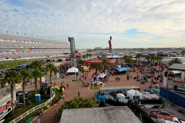 Daytona 500 infield