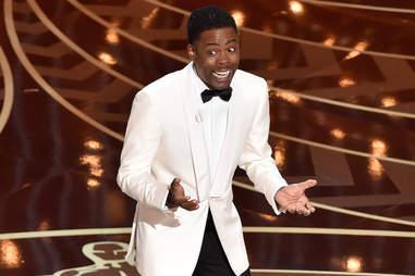 Chris Rock at the 2016 Oscars