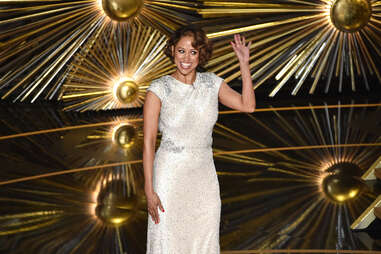Stacey Dash at the 2016 Oscars