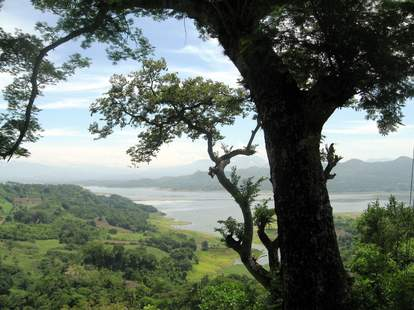 View of the Lake from Suchitoto