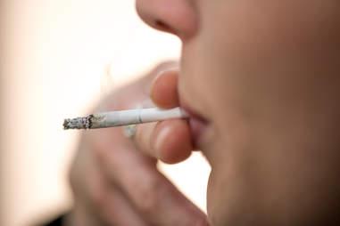 woman smoking weed marijuana