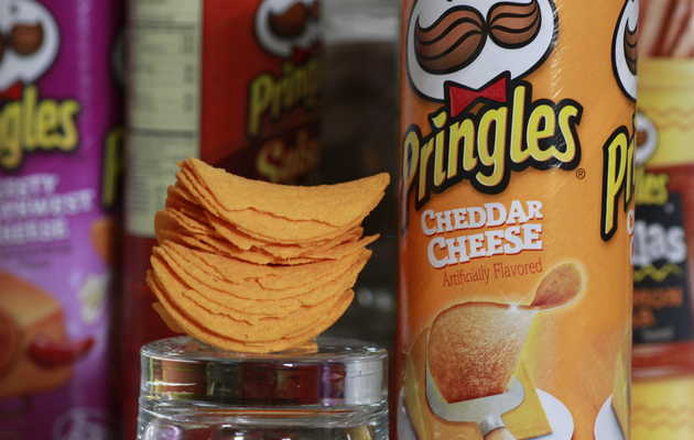 The Weird Science Behind Why You Love Pringles