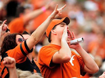 University of Texas Longhorns fan