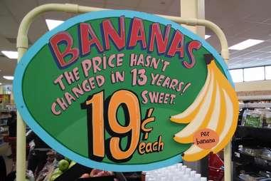 bananas at Trader Joe's