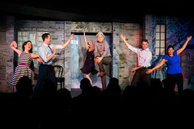 Second City Theater Chicago improv stand up sketch