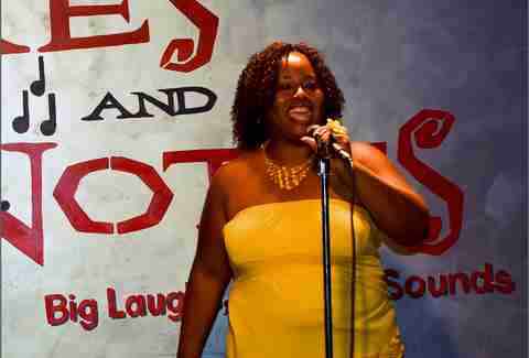 Jokes and notes Chicago comedy club improv stand up