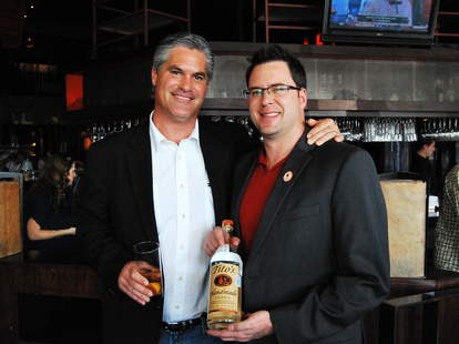 Kevin Bartz, Territory Manager for Tito's Handmade Vodka