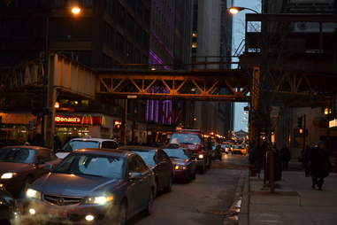 Chicago Loop traffic