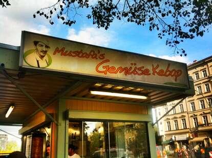 Mustafa's kebabs in Kreuzberg, Berlin, Germany