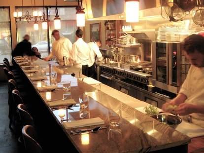 interior bar Altura restaurant seattle capitol hill