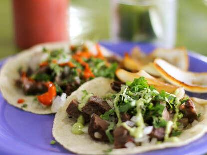 tacos from coyo taco miami