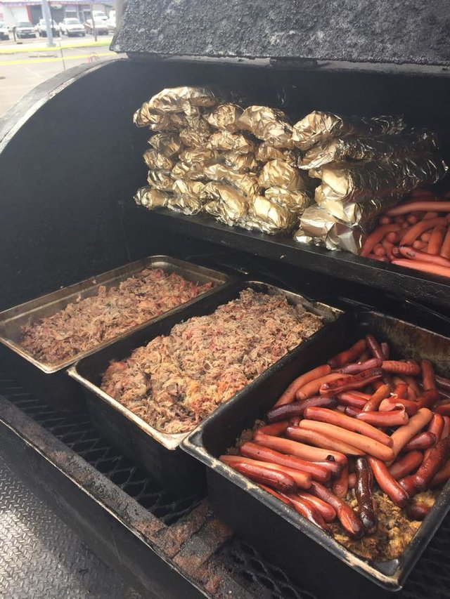 smoked meats from BBQ Cowboy Louisville