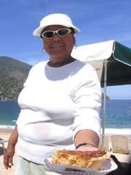 Yelapa, Mexico pie lady