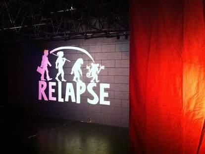 relapse theatre comedy club atlanta