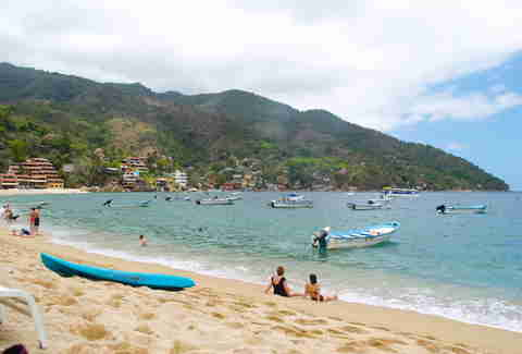 Beach in Yelapa, Mexico