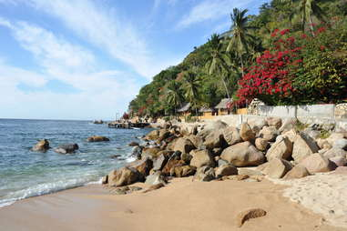Beach in Yelapa, Mexico