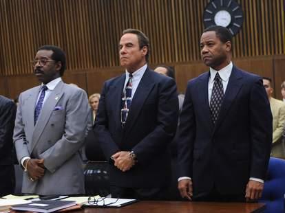 The People v. O.J. Simpson: American Crime Story starring Cuba Gooding Jr., John Travolta, and Courtney B. Vance