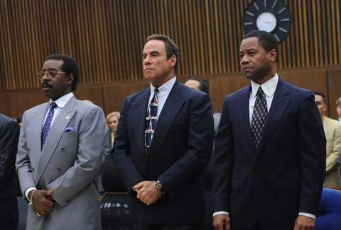 The People v. O.J. Simpson: American Crime Story starring Cuba Gooding Jr., John Travolta, and Courtney B. Vance