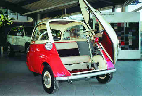 The eternally quirky BMW Isetta