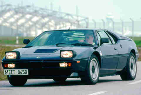 BMW's original Supercar, the M1