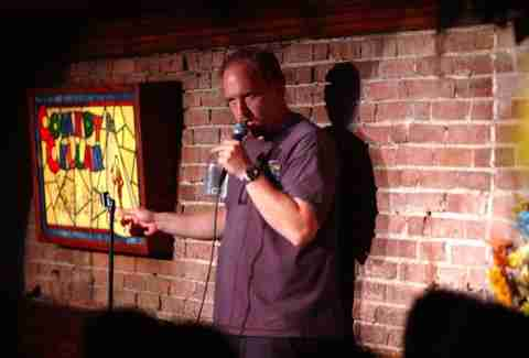 Louis C.K. at the Comedy Cellar in New York City