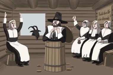pilgrim bachelorette party