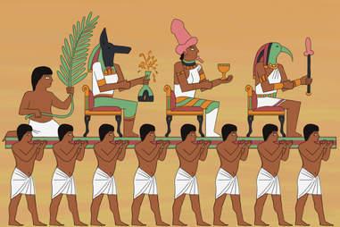Egyptian hyroglifics