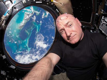 scott kelly aboard the ISS