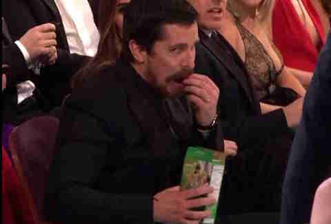 thin mints, Oscars 2016, Christian Bale