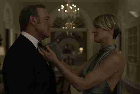 Netflix House of Cards Kevin Spacey and Robin Wright