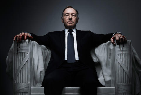 Kevin Spacey in Netflix series House of Cards