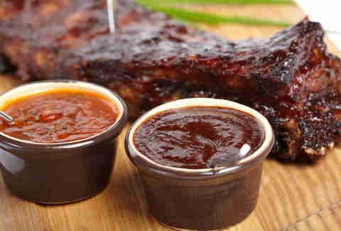 bbq sauces and ribs