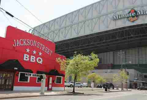 exterior of Jackson Street BBQ