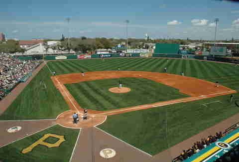 Information about Joker Marchant Stadium in Lakeland and the schedule for Tigers spring training.