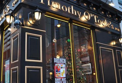 Timothy O'Toole's Pub comedy chicago