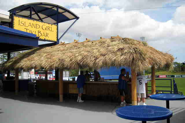 Tradition Field tiki bar