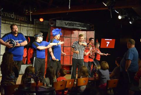 comedy sportz Theater Chicago improv