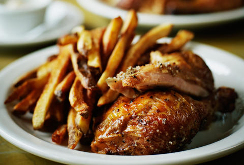 Grilled chicken and french fries Best Chicken dishes in LA