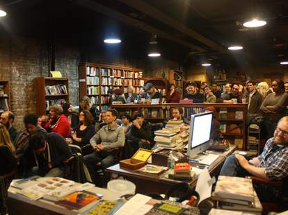 Congrats on Your Success comedy show at Uncharted Books in Chicago, Illinois