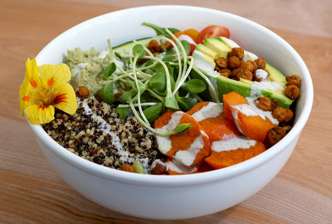 Veggie Bowl Nourish Cafe