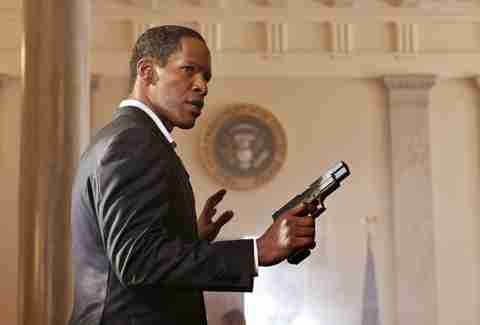 White House Down, Jamie Foxx, President James Sawyer