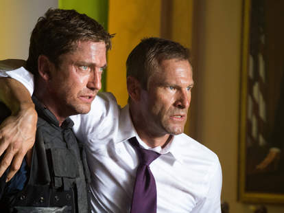 Olympus Has Fallen, London Has Fallen, Aaron Eckhart, Action Movie President