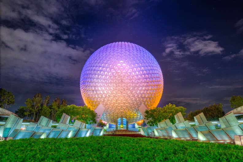 Epcot in Disney World in Orlando, Florida